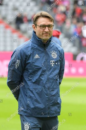 Stock Picture of Co-Trainer Robert Kovac (FC Bayern Muenchen), FC Bayern Muenchen - TSG 1899 Hoffenheim, Football, 1.Bundesliga, 05.10.2019, DFL REGULATIONS PROHIBIT ANY USE OF PHOTOGRAPHS AS IMAGE SEQUENCES AND/OR QUASI-VIDEO