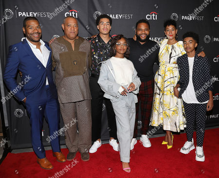 Courtney Lilly ((Exec. Producer), Lawrence Fishburne, Marcus Scribner, Marsai Martin, Anthony Anderson, Tracee Ellis Ross and Miles Brown