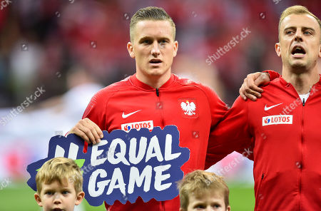 Stock Picture of Piotr Zielinski of Poland