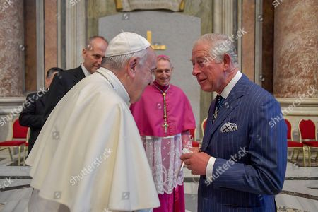 Prince Charles and Pope Francis