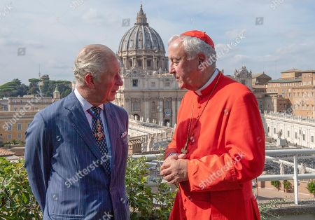 Prince Charles and Cardinal Vincent Nicholls