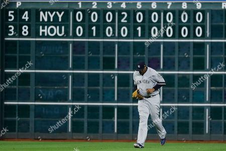 Editorial photo of ALCS Yankees Astros Baseball, Houston, USA - 13 Oct 2019