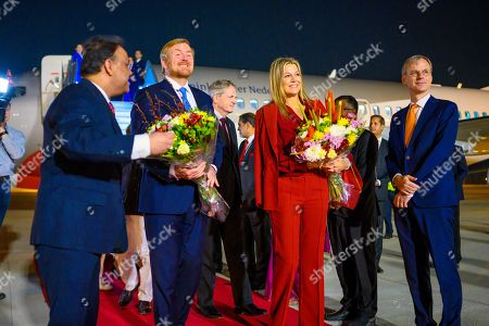 Editorial photo of Dutch Royals State visit to India - 13 Oct 2019