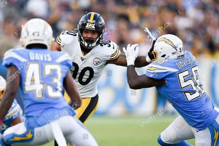 Editorial photo of Steelers Chargers Football, Carson, USA - 13 Oct 2019
