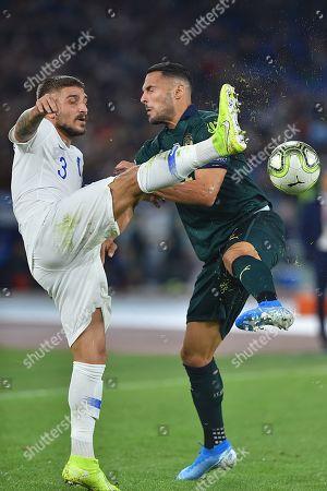 Kostas Stafylidis and Danilo D'Ambrosio