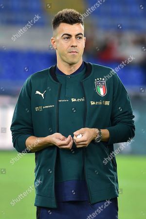 Editorial picture of Italy v Greece, UEFA Euro 2020 Qualifier football match, Rome, Italy - 13 Oct 2019