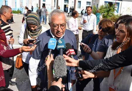 Editorial photo of Presidential Election second round, Tunis, Tunisia - 13 Oct 2019
