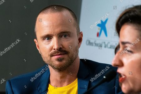 Editorial picture of 'El Camino: A Breaking Bad Movie' press conference, 52nd Sitges Fantastic Film Festival, Spain - 12 Oct 2019