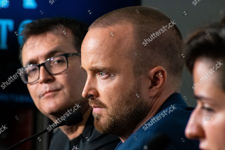 Editorial photo of 'El Camino: A Breaking Bad Movie' press conference, 52nd Sitges Fantastic Film Festival, Spain - 12 Oct 2019
