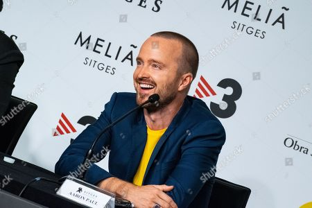 Editorial image of 'El Camino: A Breaking Bad Movie' press conference, 52nd Sitges Fantastic Film Festival, Spain - 12 Oct 2019