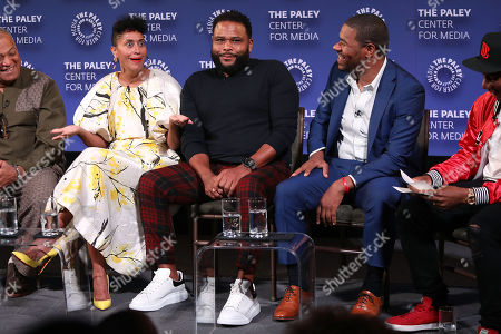 Tracee Ellis Ross, Anthony Anderson and Courtney Lilly