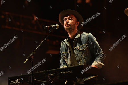 Stock Picture of Mumford and Sons - Ben Lovett