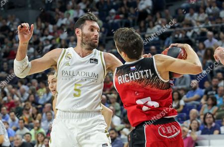 Stock Image of Rudy Fernandez of Real Madrid