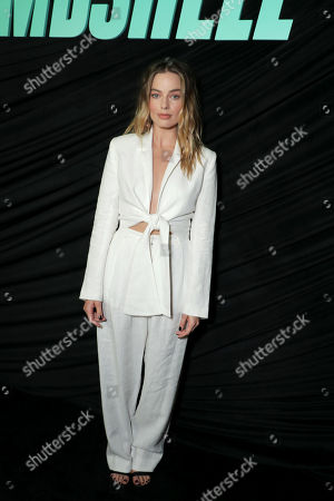 Margot Robbie attends Lionsgate's BOMBSHELL special screening at the Pacific Design Center in West Hollywood, CA