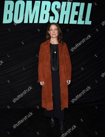 "Stock Image of Robin Weigert poses at a Los Angeles special screening of ""Bombshell"" at the Pacific Design Center on"