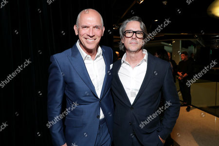 Joe Drake, Chairman, Lionsgate Motion Picture Group, and Charles Randolph, Writer/Producer, attend Lionsgate's BOMBSHELL special screening at the Pacific Design Center in West Hollywood, CA
