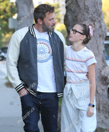 Stock Photo of Ben Affleck, Violet Affleck
