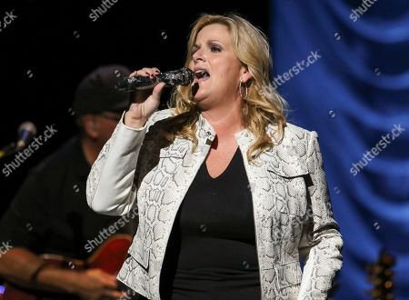 Editorial image of Trisha Yearwood In Concert - , Atlanta, USA - 13 Oct 2019