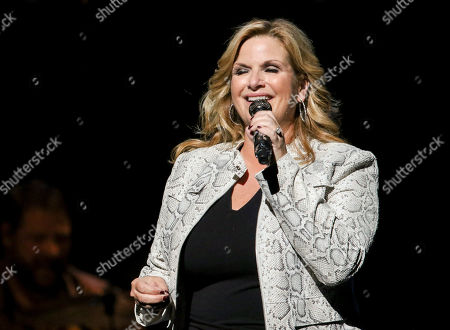 Trisha Yearwood performs at Cobb Energy Centre, in Atlanta