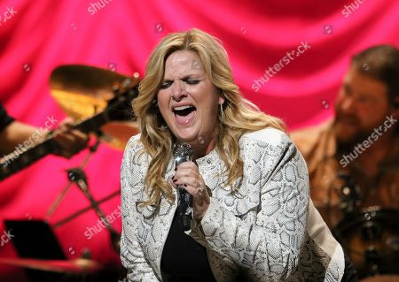 Editorial picture of Trisha Yearwood In Concert - , Atlanta, USA - 13 Oct 2019