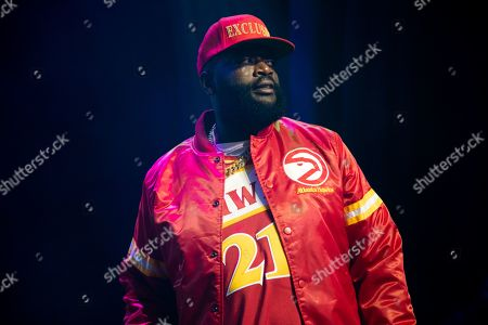 Editorial photo of Rick Ross in concert at the Fillmore, Detroit, USA - 13 Oct 2019