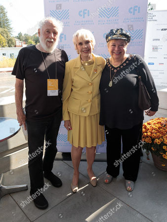 Stock Image of Barbara Rush and guests