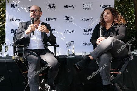 Scott Z Burns and Malina Saval