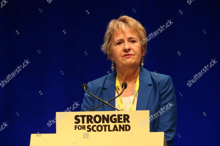 Stock Photo of Roseanna Cunningham, Cabinet Secretary for Environment, Climate Change and Land Reform