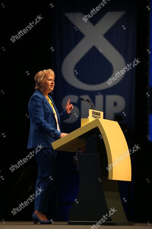 Editorial image of SNP Annual National Conference 2019 - Day 2, The Event Complex Aberdeen (TECA), Aberdeen, Scotland, UK - 14 Oct 2019