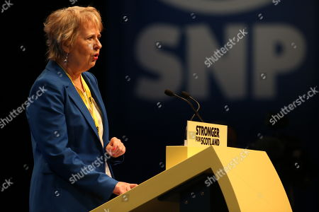 Stock Image of Roseanna Cunningham, Cabinet Secretary for Environment, Climate Change and Land Reform