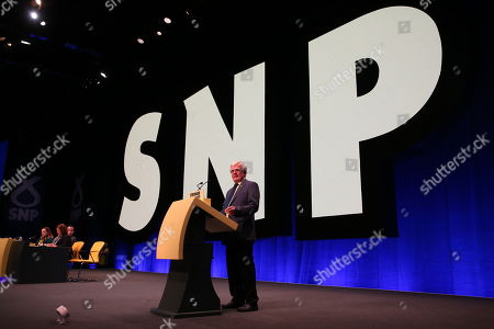 Editorial picture of SNP Annual National Conference 2019 - Day 2, The Event Complex Aberdeen (TECA), Aberdeen, Scotland, UK - 14 Oct 2019