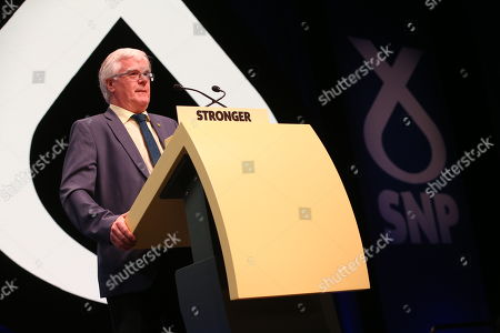 Stock Picture of Ian Hudghton, President of the Scottish National Party (SNP)