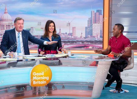 Editorial photo of 'Good Morning Britain' TV show, London, UK - 14 Oct 2019