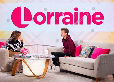 Editorial image of 'Lorraine' TV show, London, UK - 14 Oct 2019