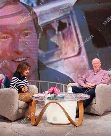 Stock Photo of Lorraine Kelly and Ray Meagher