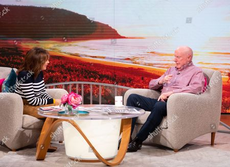 Lorraine Kelly and Ray Meagher
