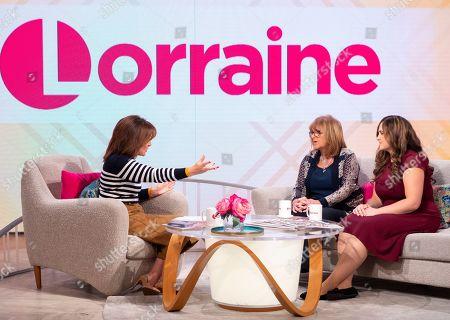 Editorial image of 'Lorraine' TV show, London, UK - 14 Oct 2019