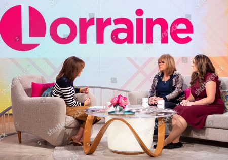 Lorraine Kelly With Roz Wickens and Katie Brown