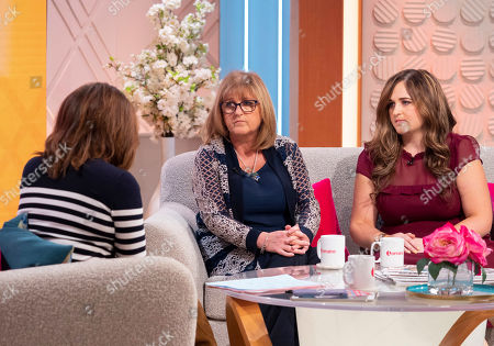 Editorial picture of 'Lorraine' TV show, London, UK - 14 Oct 2019