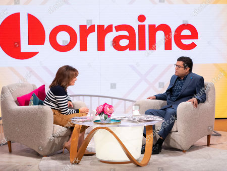 Stock Photo of Lorraine Kelly and Paul Sinha