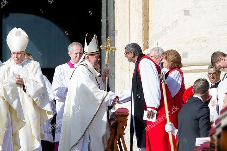 Pope Francis, Bishop Gerald James Ian Ernest