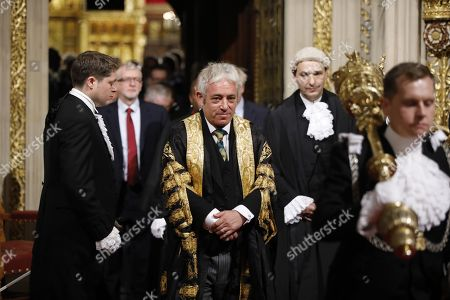 Editorial photo of State Opening of Parliament, London, UK - 14 Oct 2019