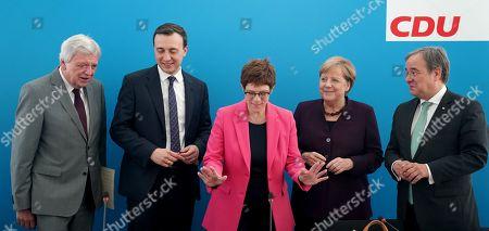 Editorial image of CDU board meeting in Berlin, Germany - 14 Oct 2019