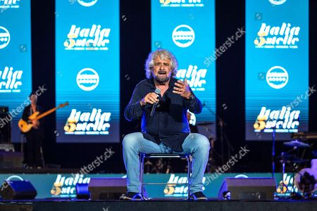 Editorial image of Five Star Movement, M5S 10 year anniversary, Naples, Italy - 14 Oct 2019
