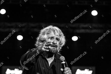 Founder of M5S Beppe Grillo