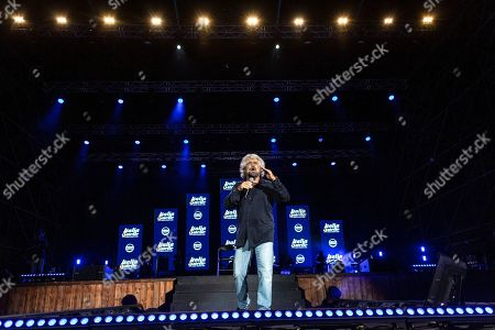 Stock Image of Founder of M5S Beppe Grillo