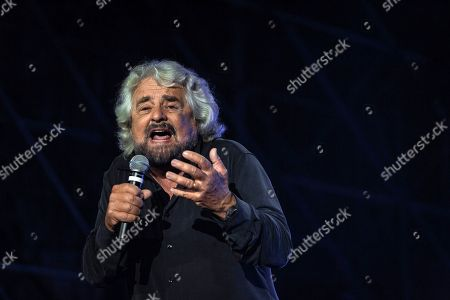 Editorial picture of Five Star Movement, M5S 10 year anniversary, Naples, Italy - 14 Oct 2019