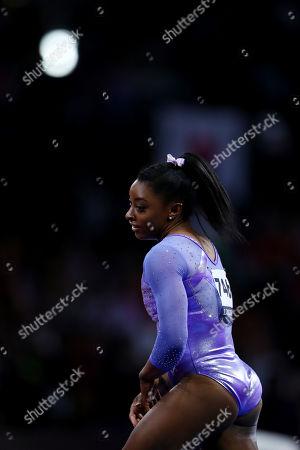 Simone Biles (USA) - Artistic Gymnastics : The 2019 Artistic Gymnastics World Championships, Women's Apparatus Finals Balance Beam at Hanns-Martin-Schleyer-Halle in Stuttgart, Germany.