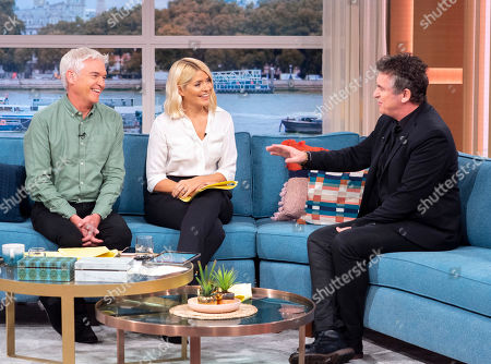 Phillip Schofield and Holly Willoughby with Shane Richie
