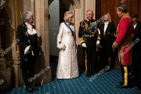 Editorial photo of Politics Queen's Speech, London, United Kingdom - 14 Oct 2019